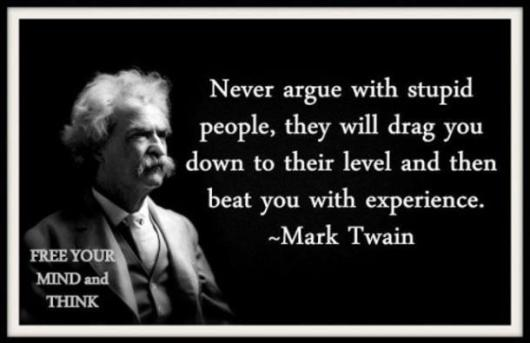 Advice from Mr.Twain