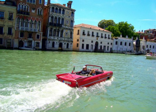 The best car for Venice