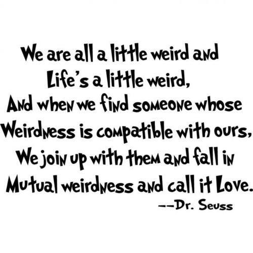 Love... by Dr Seuss
