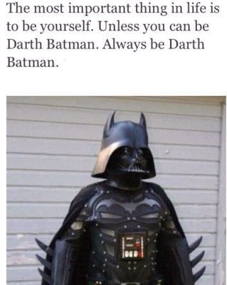 Or rather...the Darth Knight!!